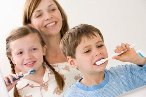 mảng bám trên răng 3