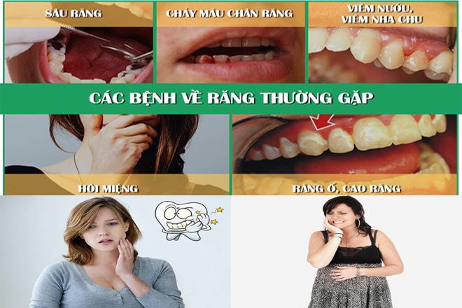 Nguy cơ bệnh lý về răng cao hơn khi mang thai