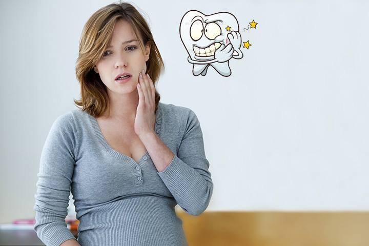 Răng yếu dần đi khi mang thai